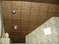 Decorative Ceiling Tile Finished Project