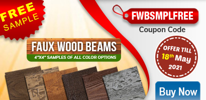 Special Off on Faux Wood Beams - Offer till 18th May 2021