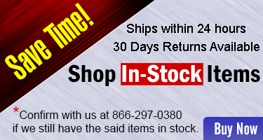 Save Time - Shop In-Stock Items