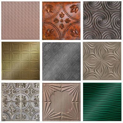Mirroflex Ceiling Tile - 24'X24' Size Sample