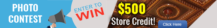 Get a Chance to Win $500 Store Credit – Monthly Drawing. Also Get $25 Store Credit!