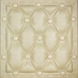 DCT LRT 22 Ivory Faux Leather Panel is made to immitate leather and to decorate your walls and ceilings.